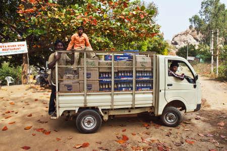truck in Hampi