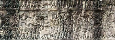 Wall in Angkor Wat