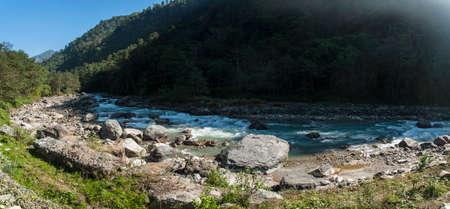 River in Annapurna area