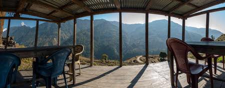 Annapurna area Stock Photo