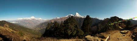 Skyline in Annapurna