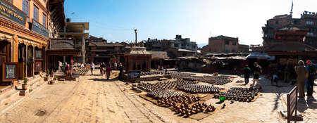 Market in Bhaktapur Editorial