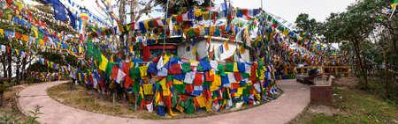 Darjeeling  Mahakal Temple Stock Photo
