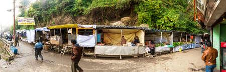 darjeeling: darjeeling market Editorial