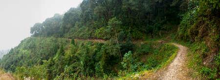 Darjeeling road Stock Photo