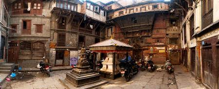 square in old tawn in Katmandu