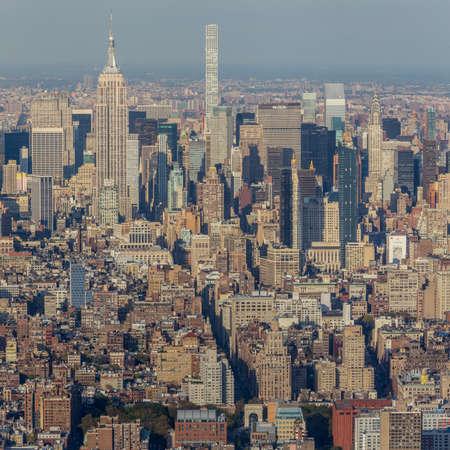November 1st, 2016 - New York - USA, Seem from the One World Center observatory Redakční