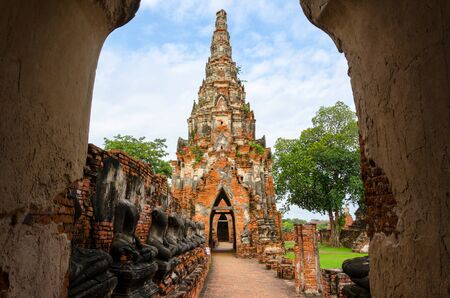 Temple in Ayutthaya Thailand  photo
