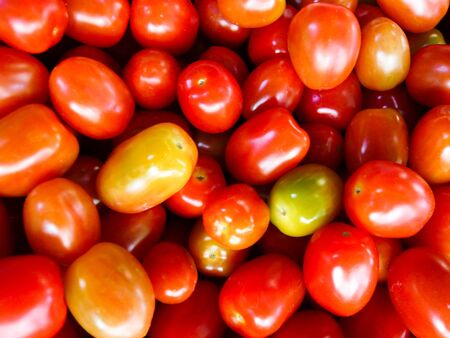 Close Up of Fresh Red Tomato photo