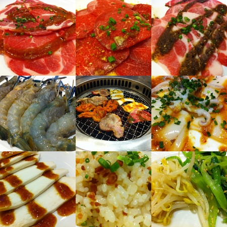 Photo Set of Japanese BBQ photo