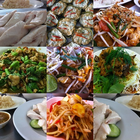 Photo Set of Thai Food photo
