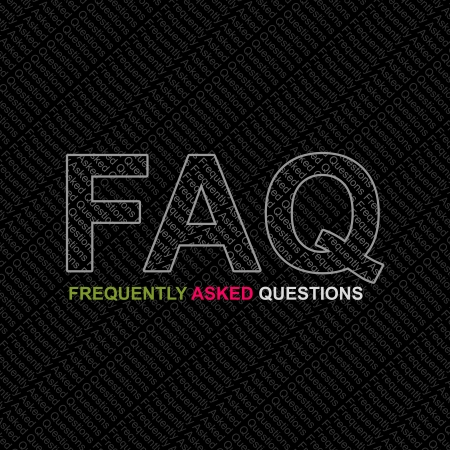 asked: FAQ, Frequently Asked Questions Concept  Stock Photo