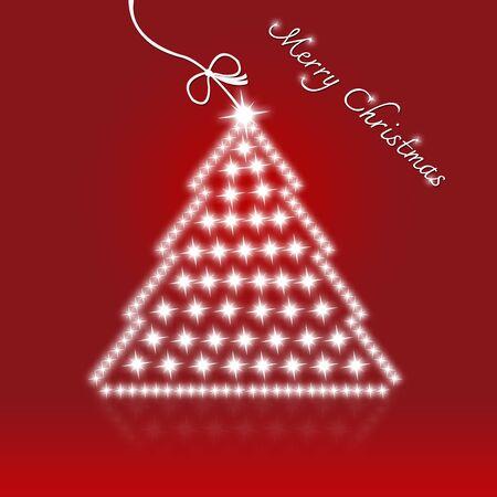 motivos navideños: Rojo Feliz Navidad con árboles de Navidad