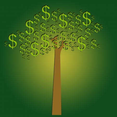 Money Tree for Business Concept  photo