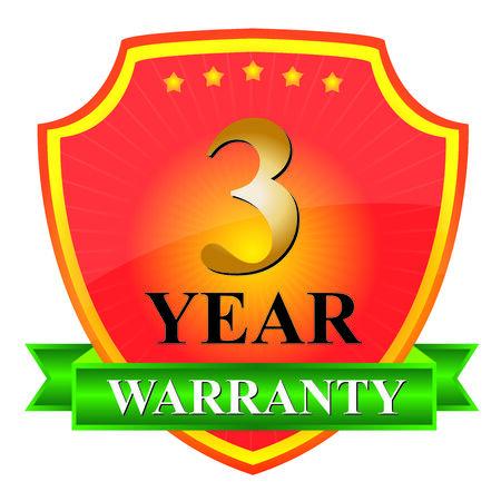 3 Year Warranty Icon photo