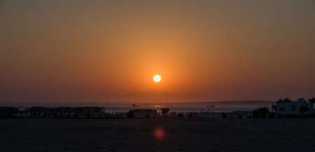 el sheikh: Sunset in Sharm El Sheikh