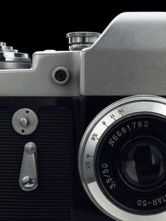 focus stacking: Large fragment of the ancient camera  Focus stacking