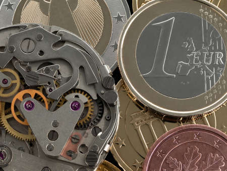euro screw: Clockwork against the European coins