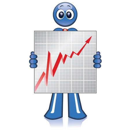 Economy moves Stock Vector - 4151420