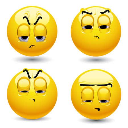 humeur: Sourire balles dans une ambiance pessimiste