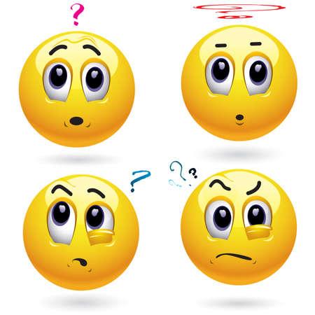 computer problems: Reflexivo sonriente bolas