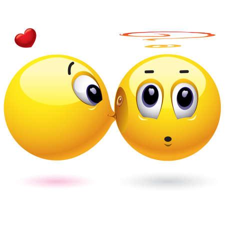 amabilidad: Sonriendo bolas en el amor