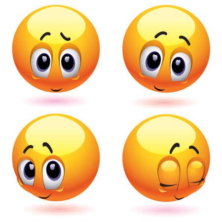 ashamed: T�mido y sonriente ruboriz�ndose bolas