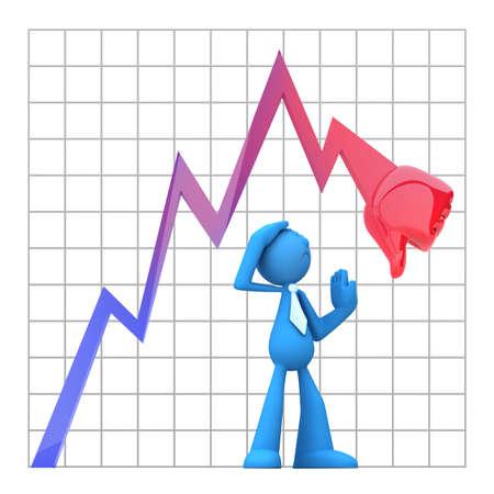 perdidas y ganancias: Empresario decepci�n de la ca�da de la econom�a de