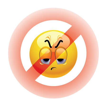 negative: Angry Smiley ball being banned