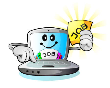 Laptop computer and job