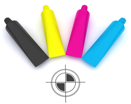 polygraphic: CMYK and polygraphic cross
