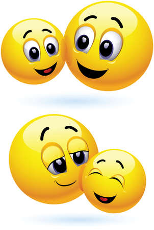 smiley, illustration, cartoon, draw, character, face, Stock Vector - 9813935