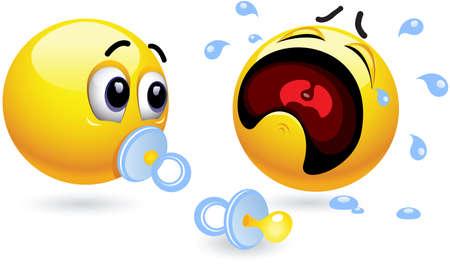 smiley, illustration Stock Vector - 9813934