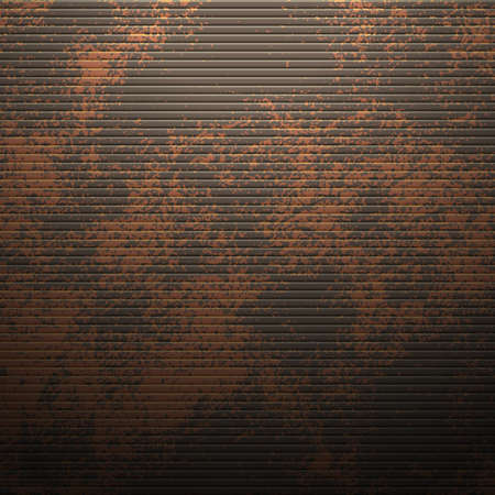illustration of a metallic background with perforation