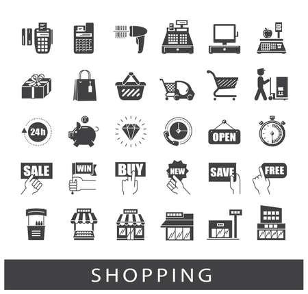 Collection d'icônes de première qualité. Banque d'images - 68807262