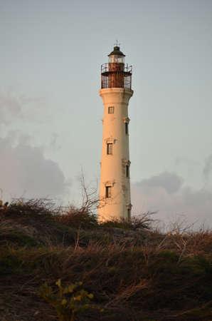 noord: California Lighthouse in Noord Aruba.