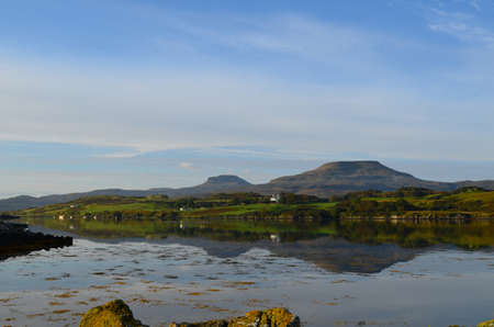 lothian: Gorgeous views of MacLeods Tables and the loch of dunvegan.