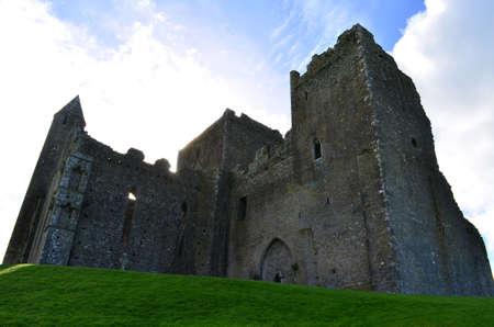 Standing ruins of the Rock of Cashel in Ireland.