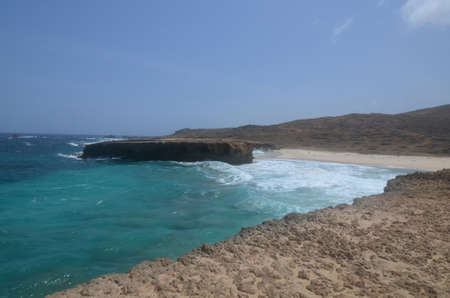 Boca Keto a secluded beach on the east side of Aruba.