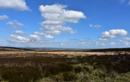 Stunning landscape in North England along the coast to coast walk.