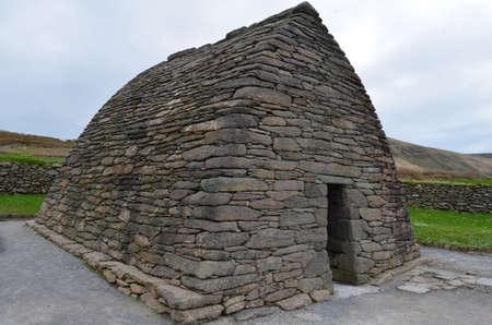 Stone gallarus oratory on Slea Head Penninsula in Ireland.