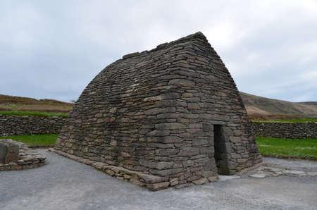 Gallarus oratory on Dingle Penninsula in Ireland.