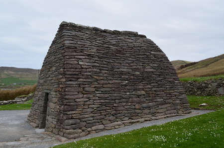 The Gallarus Oratory is still standing on Slea Head Penninsula.