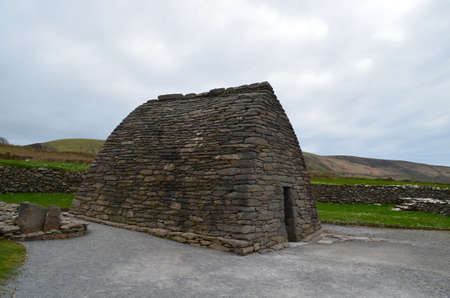 An early Christian Church called the Gallarus Oratory in Ireland.