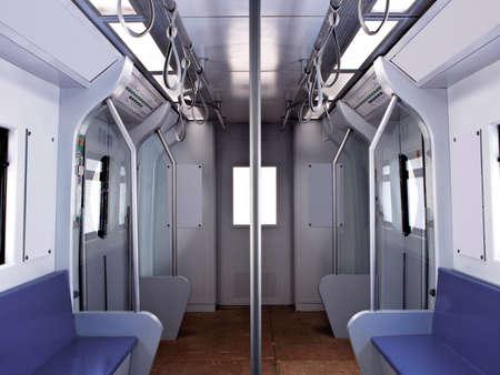 no body: No body in subway