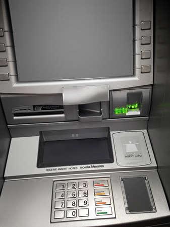 servicios publicos: los servicios públicos de pago en efectivo ATM