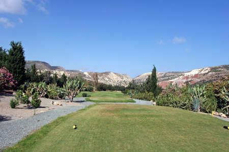 Golf Field in Cyprus