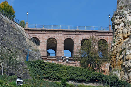 Luxembourg - The Pont du Chateau