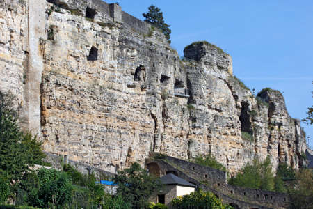 Luxembourg - The Bock promontory