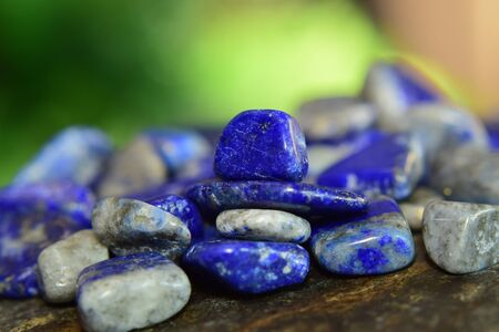Lapis Lazuli Beautiful natural blue stone For making jewelry